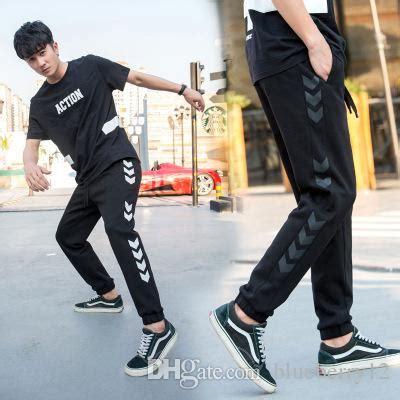 Size Korean Style Men Harem Pants Leggings Jogger