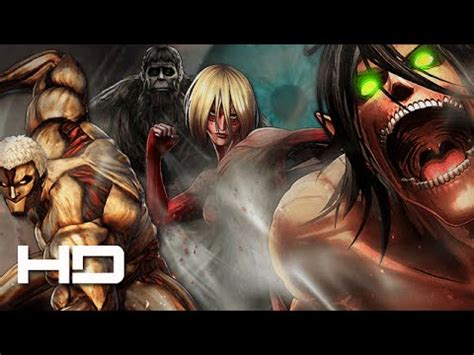 ATTACK ON TITAN: Wings of Freedom Eren VS Armored Titan