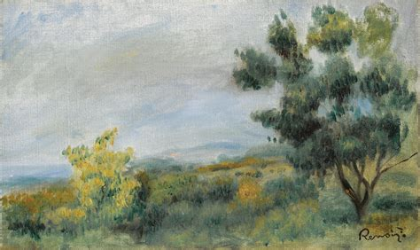 Pierre Auguste Renoir French 1841 1919 Paysage
