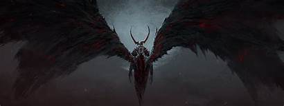 Wings Fire Moon Demon Cold Horn Chris