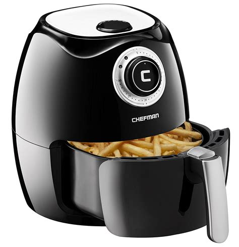 fryer air chefman temperature control airfryer frying touch liter recipe quart adjustable foods rj38 cushions outdoor swing replacement prices capacity