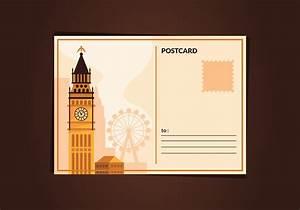 Love Letter Free Download London Vintage Postcard Download Free Vectors Clipart