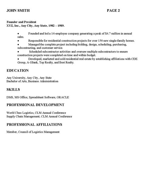 References Are Typically Included On A Resume by Distribution Manager Executive Resume Exle