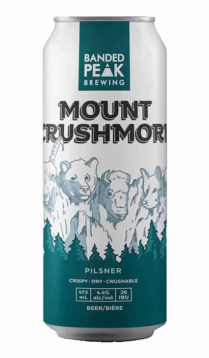 Crushmore Mount Peak Banded Pilsner Beer Mt