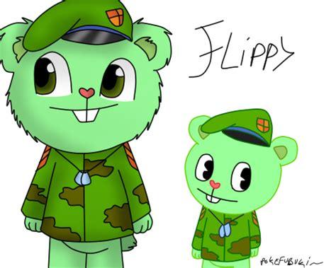 Flippy Htf Anime Vercion. By Pokefubuki On Deviantart