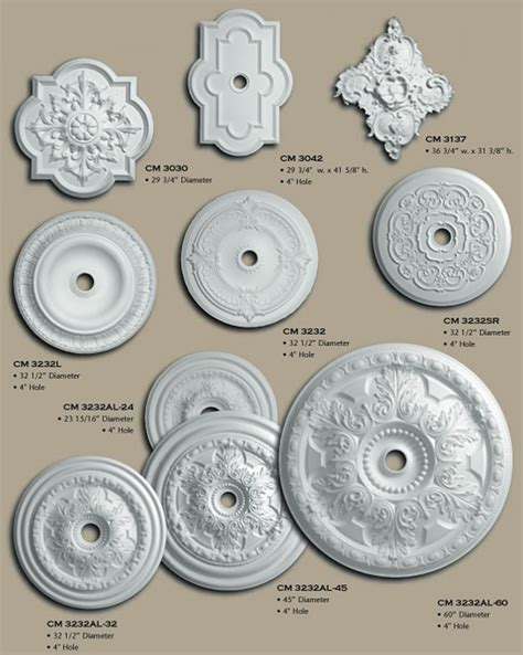 Small Two Ceiling Medallions by Poly Ceiling Medallions Buy Selection
