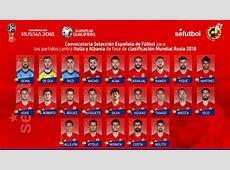 Spain squad announced José Callejón the surprise
