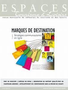 Espaces Des Marques : revue espaces revue espaces marques de destination 2e ~ Mglfilm.com Idées de Décoration
