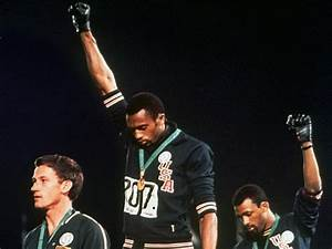 45th anniversary of John Carlos-Tommie Smith 'black power ...