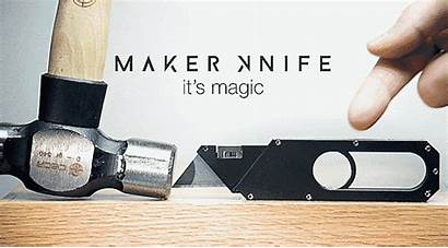 Knife Retracts Blade Magic Want