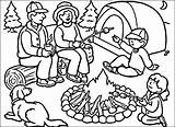 Camping Coloring Pages Camp Summer Drawing Tent Sheets Printable Colouring Campfire Worksheets Preschool Putting Scout Clipart Drawings Susquehanna Valley River sketch template