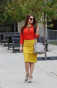 1000 images about Pencil skirt Julietta yellow summer on