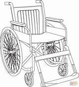 Coloring Wheelchair Printable Skip Drawing Games Paper sketch template
