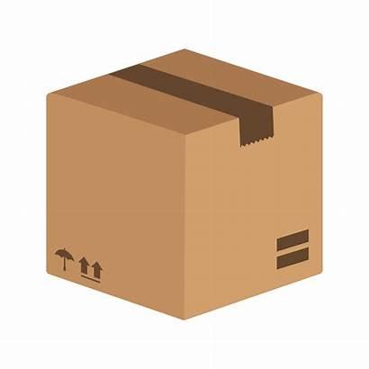 Package Icon Vector Box Clipart Shipping Cargo
