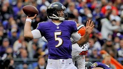 Ravens Baltimore Nfl Steelers Past Quarterback Joe