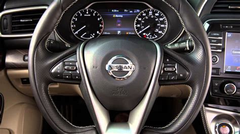 nissan maxima heated steering wheel   equipped