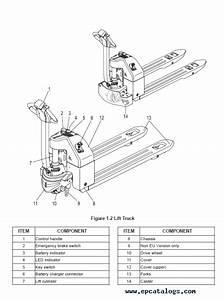 35 Pallet Jack Parts Diagram