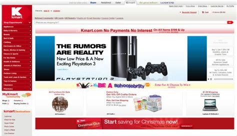 kmart quot new low price new exciting playstation 3 quot update