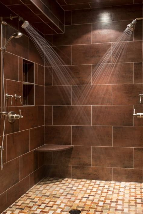 Big Tiles Bathroom by 65 Bathroom Tile Ideas Master Bath