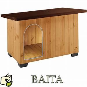 Niche D Intérieur Pour Chien : niche bois pour chien de moyenne et grande taille ~ Dallasstarsshop.com Idées de Décoration