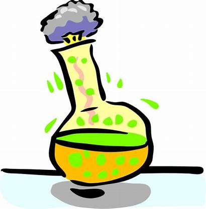 Chemical Experiment Clip Clipart Clker Vector
