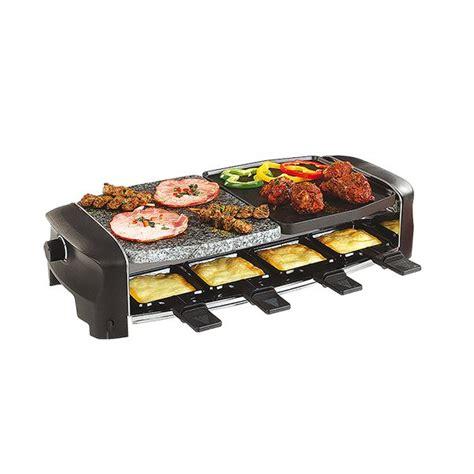 appareil cuisine conviviale appareil à raclette multifonctions 8 personnes domoclip