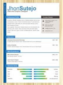 modern curriculum vitae templates for microsoft free one page resume templates browse ideas