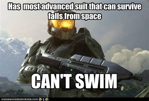 Master Chief Meme - master chief logic video game logic know your meme