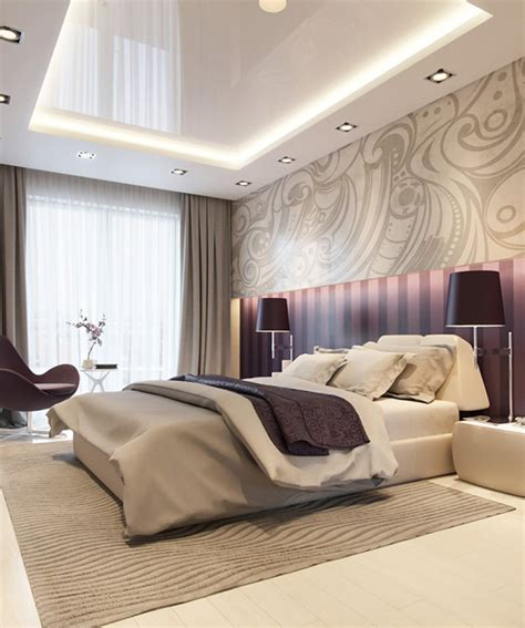 Bedroom Design Purple And by 20 Master Bedrooms With Purple Accents Home Design Lover