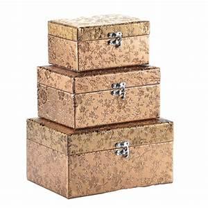 Deko Karton Mit Deckel : aufbewahrungsbox mit deckel gold silber deko box kiste truhe kleidung schmuck ebay ~ Frokenaadalensverden.com Haus und Dekorationen
