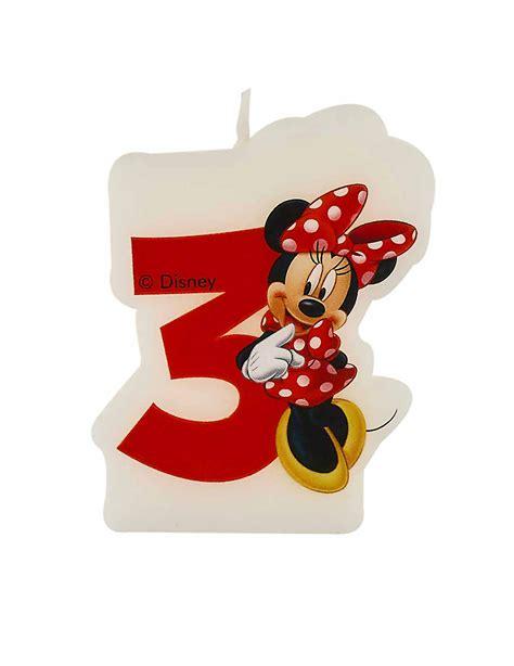 bougie d anniversaire 3 ans minnie d 233 coration anniversaire et f 234 tes 224 th 232 me sur vegaoo