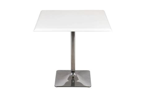 table de bistrot carree table de bistrot carr 233 e blanc design pas cher sur sofactory