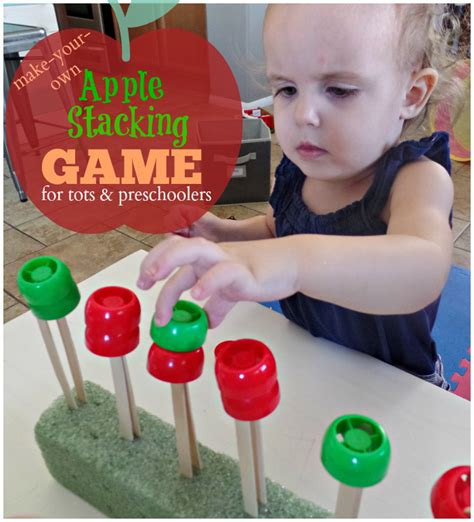 apple stacking for preschoolers and tots simple 716 | Apple Stacking Game for Toddlers and Preschoolers