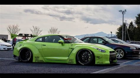 nissan  gtr wide body liberty walk cars