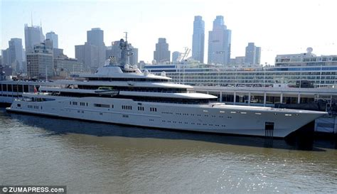 Biggest Boat Ever Designed by World S Largest Yacht Belonging To Russian Billionaire