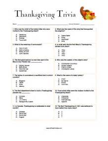 thanksgiving trivia free printable allfreeprintable