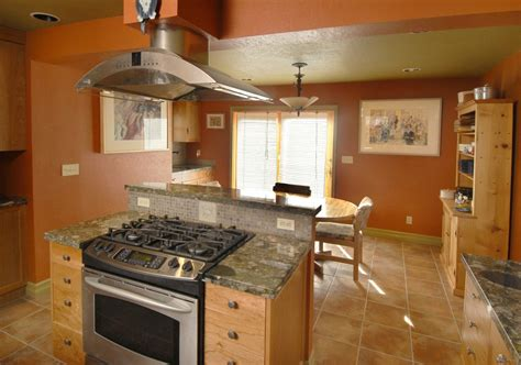 kitchen island with cooktop and seating remarkable kitchen island stove oven with broan island