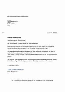 Wohnung Kündigen Vorlage : kondolenzschreiben vorlage gesch ftlich und privat muster ~ Eleganceandgraceweddings.com Haus und Dekorationen