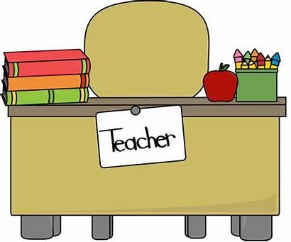 Desk Teacher Teachers Clip Apple Books Graphics