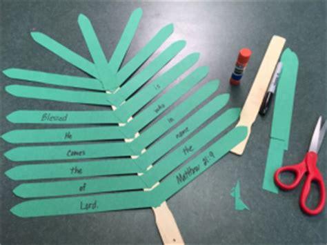palm sunday preschool crafts palm leaf craft mr s classroom 896