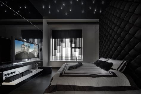 25+ Black Bedroom Designs, Decorating Ideas Design