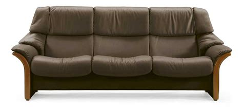 High Back Reclining Sofa by Stressless Eldorado High Back 3 Seater Reclining Sofa With