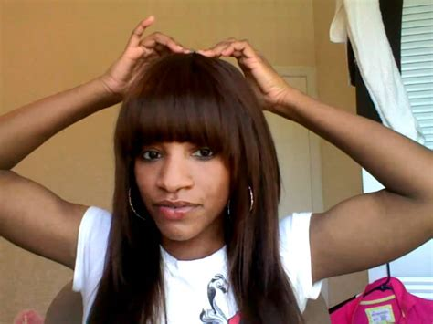 Pictures Of Sew In Weave Hairstyles With Bangs