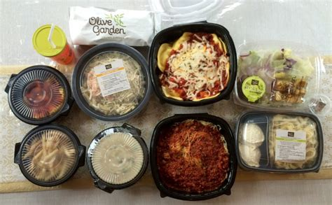 olive garden to go olive garden pay 26 for four entrees two soups