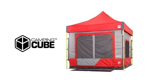 camping cube straight leg  youtube