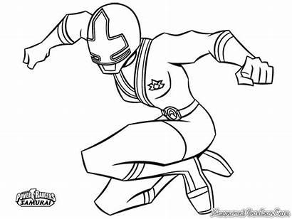 Ranger Power Rangers Mewarnai Gambar Sketsa Coloriage