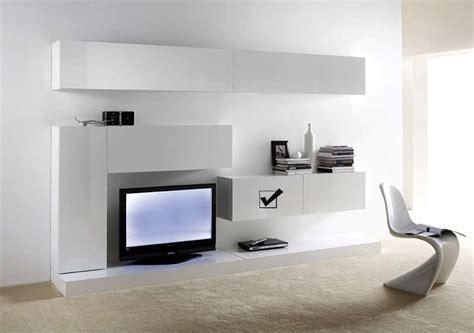 accessoire de bureau original meuble tv mural suspendu design laqué horizontal d s