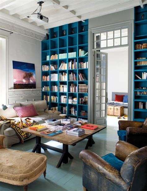 Blue Bookcase by Blue Bookcase Velvet Palette