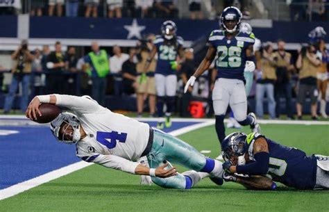 cowboys hitch nfl playoff wagon  dak prescotts