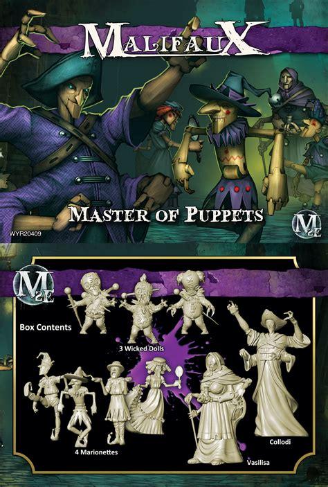 wyrd malifaux neverborn master of puppets collodi crew